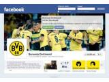 Bild: Der BVB - Deutscher Fußballmeister und auch bei Facebook recht beliebt.