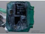 Bild: Dieser Chip steckt in Apples neuem Lightning-Anschluss. Ob das Bauteil tatsächlich den Anschluss von günstigem Zubehör von Drittherstellern unterbindet ist möglich, aber noch nicht abschließend geklärt.