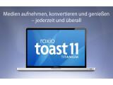 Bild: Corel übernimmt mit Roxio auch das beliebte Brennprogramm Toast für Mac.