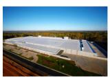 Bild: Das Dach von Apples neuem Datenzentrum in Maiden soll eine besonders hohe Solar-Reflexion ermöglichen.