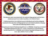 Bild: Die Domain Megaupload.com wurde vom FBI beschlagnahmt.