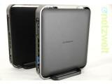 Bild: Duo für den neuen WLAN-Standard: Der Router AirStation 1750 und die baugleiche Media Bridge AirStation 1300.