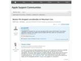Bild: Im englischsprachigen Support-Forum von Apple häufen sich die Beschwerden bezüglich einer verkürzten Akkulaufzeit.
