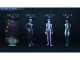 Bild: Die Entwicklung des Charakter-Designs von Halo 4-KI Cortana.