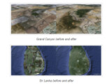 Bild: Die Erde sieht bei Google Earth jetzt deutlich besser aus.