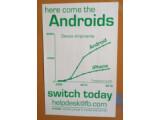 Bild: Facebook animiert seine Mitarbeiter künftig zu Android-Smartphones statt zu Apples iPhone zu greifen.