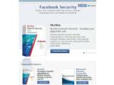 Bild: Im Facebook Anti-Virus Marketplace finden sich kostenlose, befristete Lizenzen für Anti-Virus-Programme.
