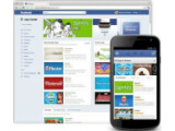 Bild: Im Facebook App Center sollen Anwendungen, die besonders gut bewertet wurden, auf der Startseite oben stehen.