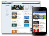 Bild: Facebook hat mit dem App Center eine Art App-Store eröffnet.