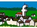 Bild: Facebook ist wie ein Dorf. Ein großes Dorf mit rund einer Milliarde Einwohnern.