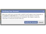 Bild: Facebook möchte verifizierte Profile einführen.