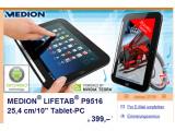 Bild: In den Filialen von Aldi Süd wird diese Woche das Medion-Tablet verkauft.