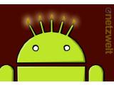 Bild: Vor fünf Jahren erblickte Googles Android-System das Licht der Welt.