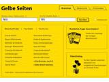 Bild: Die Gelben Seiten bieten ab sofort eine Bewertungsfunktion im Web an.
