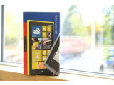 Bild: Gelber Hoffnungsträger - Das Nokia Lumia 920 ist in der Redaktion eingetroffen.
