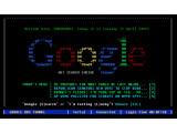 Bild: Das Google BBS zeigt, wie die Suchmaschine in den 80ern funktioniert hätte.