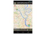 Bild: Google Maps soll künftig auf Android-Handys auch offline Karten ganzer Regionen anzeigen können.