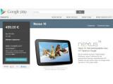 Bild: Das Google Nexus 10 ist wieder bei Google Play verfügbar.