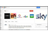 Bild: Die Google+-Seite von Sky befindet sich zwar noch im Aufbau, aber Sky lädt schon mal zum ersten Google+ Hangout.
