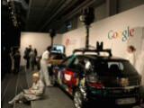 Bild: Googles Street View-Autos auf der CeBIT 2010 in Hannover.