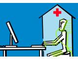 Bild: Hightech-Kapseln machen den Menschen fit für die Arbeit am Computer.