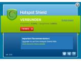 Bild: Hotspot Shield leitet den Datenverkehr des Nutzers über die USA um.