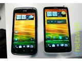 Bild: Das HTC One S (links) und das HTC One X erhalten bald ein Update auf Android 4.1 Jelly Bean.
