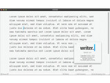 Bild: Der iA Writer ist eine minimalistische Textverarbeitung für Mac OS X und iOS.