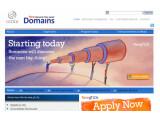 Bild: Die ICANN bewirbt die Vergabe neuer Homepage-Namen auf seiner Webseite.