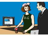 Bild: Die ideale Werbeträgerin in James Bond: Moneypenny