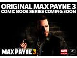 Bild: Insgesamt drei Max Payne-Comics wird es geben.