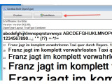 Bild: Die Installation zusätzlicher Schriftarten unter Windows 7 ist kinderleicht.