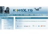 Bild: Internen Analysen der GVU zufolge reorganisiert Kinox.to derzeit sein Angebot.