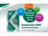 Bild: Kasperky One schützt PC, Mac, Smartphone und Android-Tablets.