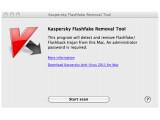 Bild: Kaspersky bietet ein kostenloses Tool an, dass den Flashback-Trojaner löschen soll.
