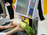 Bild: Die Kasse von Toshiba Tec könnte Barcodes obsolet machen.