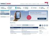 Bild: In Kooperation mit Base und MasterCard bietet die Targobank einen NFC-Bezahlchip für Handys.