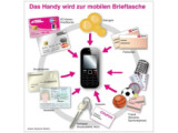 Bild: Laut der Telekom soll das Handy bald zur mobilen Brieftasche werden.