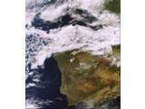 Bild: Dies ist eine der letzten Aufnahmen, bevor der Kontakt zum Satelliten Envisat abbrach.