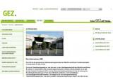 Bild: Ein letzter Blick zurück. Die GEZ-Webseite wird zum 1. Januar 2013 abgeschaltet.