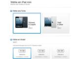 Bild: Die Lieferzeit für das iPad mini beträgt bereits zwei Wochen.