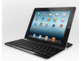 Bild: Logitech hat eine Bluetooth-Tastatur zum Schutz für das neue iPad vorgestellt.
