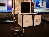 Bild: Die Logitech Cube funktionierte in einem Kurztest auf der CES problemlos.