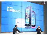 Bild: Das Lumia 610 ist das vierte und günstigste Smartphone der Nokia-Reihe.
