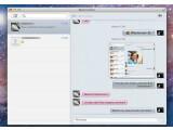Bild: Mac OS X Nachrichten: Der iChat-Nachfolger im iOS-Gewand.