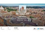 Bild: Wer mag kann dem Pabst ab jetzt bei Twitter folgen.