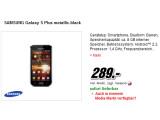 Bild: Bei Media Markt ist das Galaxy S Plus von Samsung im Angebot.