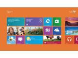 Bild: ((metro.jpg)) Der verkachelte Startbildschirm von Windows 8 passt nicht zu einem Desktop-Betriebssystem.