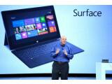 Bild: Microsoft-Chef Steve Ballmer enthüllte in Los Angeles den Tablet-PC Surface.