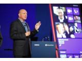 Bild: Microsoft-Chef Steve Ballmer setzt auch bei seinem neuen Handy-OS Windows Phone 8 auf eine Kachel-Oberfläche.